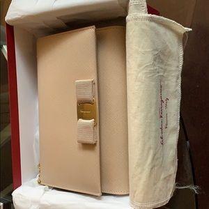Salvatore Ferragamo cross body purse